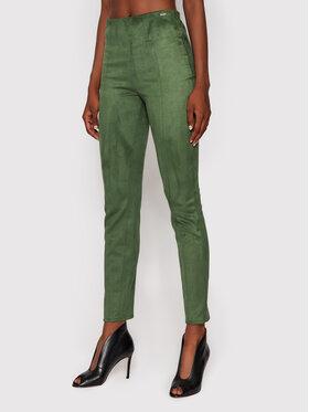 Guess Guess Colanți Maya W1YB90 WE0L0 Verde Slim Fit