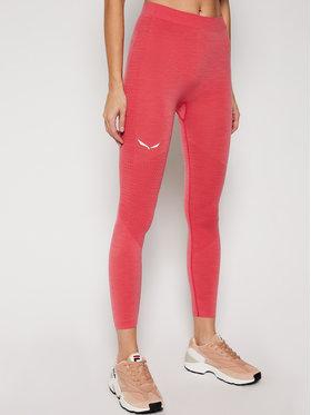 Salewa Salewa Sous-vêtement thermique bas Zebru Responsive 27966 Rose Slim Fit