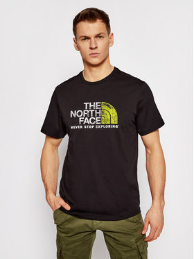 The North Face The North Face Póló Rust 2 Tee NF0A4M68KY41 Fekete Regular Fit