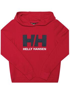 Helly Hansen Helly Hansen Bluza Logo 41707 Czerwony Regular Fit