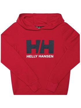 Helly Hansen Helly Hansen Sweatshirt Logo 41707 Rot Regular Fit