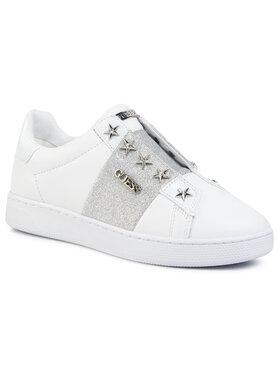 Guess Guess Sneakersy Rush FL5RUS LEA12 Bílá