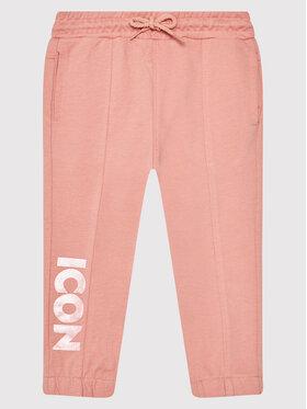 Coccodrillo Coccodrillo Teplákové nohavice ZC1120103EVG Ružová Regular Fit