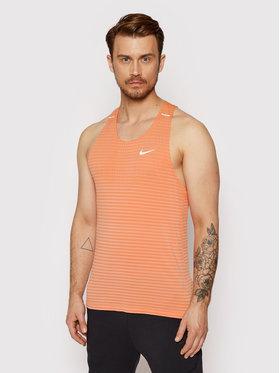Nike Nike Smanicato CJ5427 Arancione Slim Fit