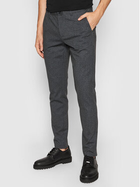 Only & Sons Only & Sons Chinosy Mark 22020392 Granatowy Tapered Fit