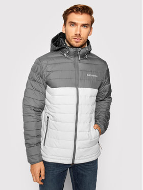 Columbia Columbia Pehelykabát Powder Lite 1693931 Szürke Regular Fit