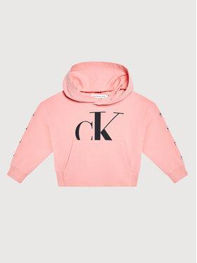 Calvin Klein Jeans Calvin Klein Jeans Bluza Mini Monogram IG0IG01007 Różowy Regular Fit