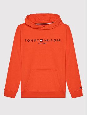 Tommy Hilfiger Tommy Hilfiger Bluza Essentals KB0KB05673 Czerwony Regular Fit