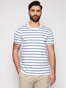 Polo Ralph Lauren Polo Ralph Lauren T-shirt Ssl 710829201002 Blanc Regular Fit