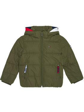 Tommy Hilfiger Tommy Hilfiger Pūkinė striukė Essential KB0KB05982 D Žalia Regular Fit