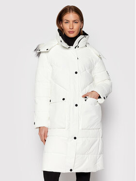 DKNY DKNY Pernata jakna DL1MPF16 Bijela Regular Fit