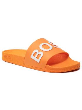 Boss Boss Pantoletten Bay 50425152 10224455 01 Orange
