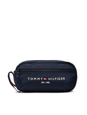 Tommy Hilfiger Tommy Hilfiger Pochette per cosmetici Th Established Washbag AM0AM07845 Blu scuro