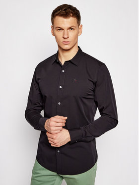 Tommy Jeans Tommy Jeans Camicia DM0DM04405 Nero Slim Fit