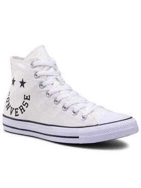 Converse Converse Plátěnky Ctas Hi 167067C Bílá