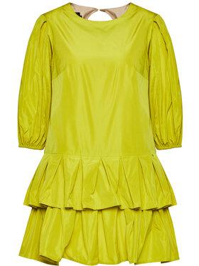 Rage Age Rage Age Koktejlové šaty Cynthia 1 Žlutá Slim Fit