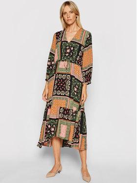 Marella Marella Sukienka codzienna Scozia 32262318 Kolorowy Relaxed Fit