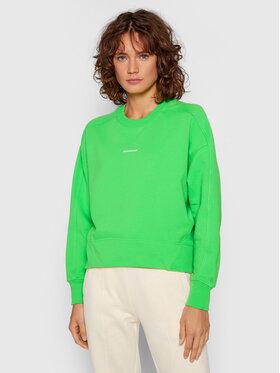 Calvin Klein Jeans Calvin Klein Jeans Bluză Essentials J20J215463 Verde Regular Fit
