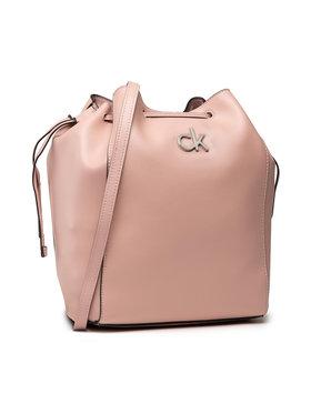 Calvin Klein Calvin Klein Дамска чанта Drawstring Bucket Bag K60K608176 Розов