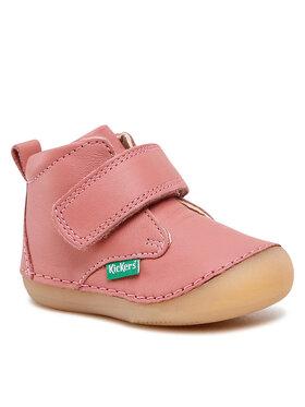 Kickers Kickers Šnurovacia obuv Sabio 584348-10-132 Ružová