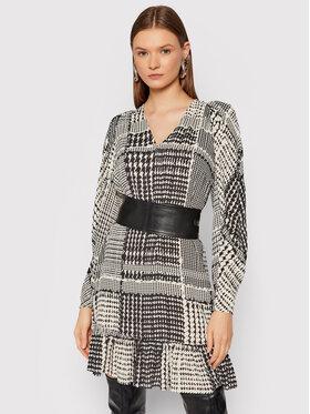 TWINSET TWINSET Hétköznapi ruha 212TT234C Fekete Regular Fit