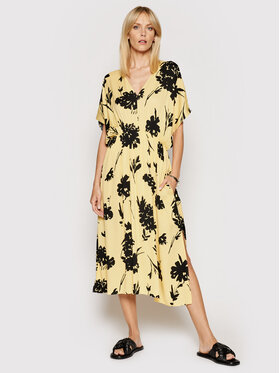 Samsøe Samsøe Samsøe Samsøe Vestito estivo Andina F20300220 Giallo Loose Fit