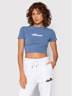 Ellesse Ellesse T-Shirt Siderea Crop SGK09623 Modrá Regular Fit