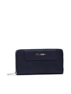 Tommy Hilfiger Tommy Hilfiger Великий жіночий гаманець Fresh Large Za Corp AW0AW10211 Cиній