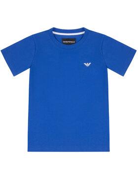 Emporio Armani Emporio Armani Marškinėliai 8N4TJC 4JFEZ 0945 Mėlyna Regular Fit
