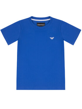 Emporio Armani Emporio Armani T-Shirt 8N4TJC 4JFEZ 0945 Blau Regular Fit