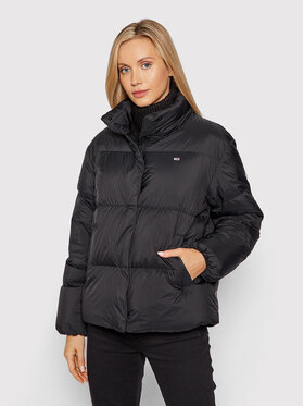 Tommy Jeans Tommy Jeans Geacă din puf DW0DW11106 Negru Relaxed Fit