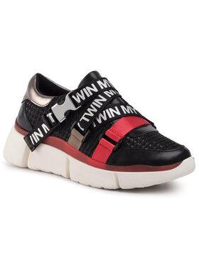 My Twin Sneakersy Running 192MCT130 Čierna