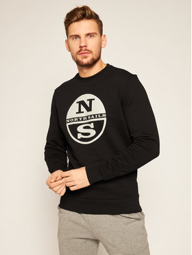 North Sails North Sails Bluză Graphic 691542 Negru Regular Fit