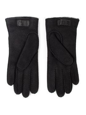 Ugg Ugg Pánské rukavice M Contrast Sheepskn Glove 18711 Černá