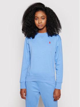 Polo Ralph Lauren Polo Ralph Lauren Mikina Lsl 211780304010 Modrá Regular Fit