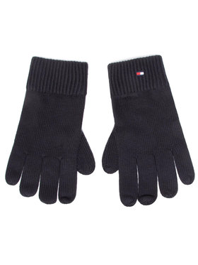 Tommy Hilfiger Tommy Hilfiger Mănuși pentru Bărbați Pima Cotton Gloves AM0AM06591 Negru