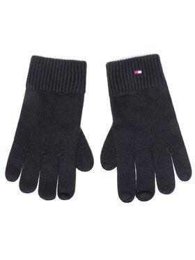 Tommy Hilfiger Tommy Hilfiger Pánské rukavice Pima Cotton Gloves AM0AM06591 Černá