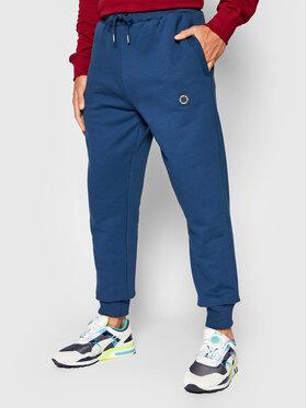 Pepe Jeans Pepe Jeans Spodnie dresowe Aaron PM211429 Niebieski Regular Fit