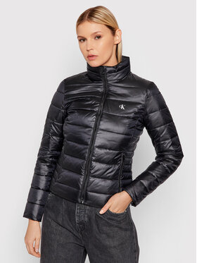 Calvin Klein Jeans Calvin Klein Jeans Pehelykabát J20J216881 Fekete Regular Fit