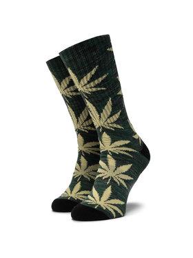 HUF HUF Дълги чорапи unisex Plantlife Melange Sock SK00444 r.OS Зелен