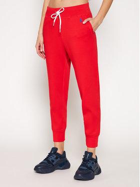 Polo Ralph Lauren Polo Ralph Lauren Teplákové kalhoty Fleece 211780215012 Červená Relaxed Fit