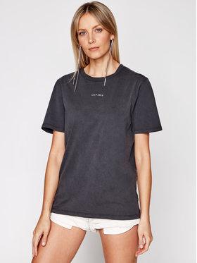 IRO IRO T-shirt Perry A0283 Crna Regular Fit