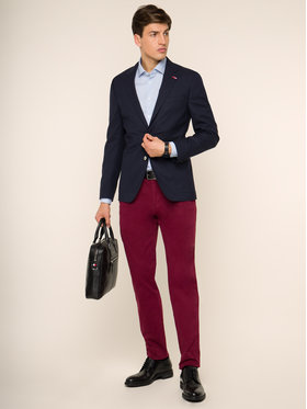 Tommy Hilfiger Tailored Tommy Hilfiger Tailored Сако TT0TT02317 Тъмносин Tailored Fit