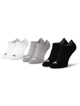 adidas adidas Σετ 3 ζευγάρια κοντές κάλτσες unisex Light Nosh 3PP DZ9414 Μαύρο