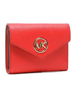 MICHAEL Michael Kors MICHAEL Michael Kors Malá dámská peněženka Carmen 34S1GNME6L Červená