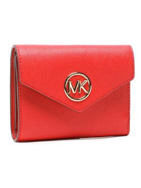 MICHAEL Michael Kors MICHAEL Michael Kors Portefeuille femme petit format Carmen 34S1GNME6L Rouge