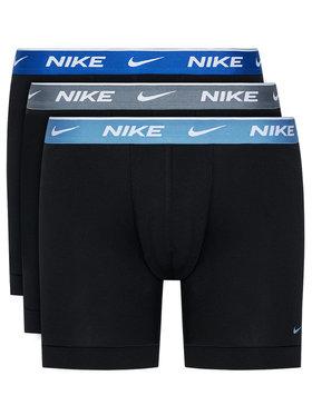 Nike Nike Komplektas: 3 poros trumpikių Everyday KE1007 Juoda