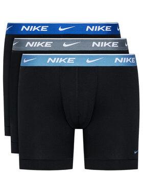 Nike Nike Súprava 3 kusov boxeriek Everyday KE1007 Čierna