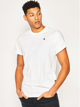 G-Star Raw G-Star Raw T-Shirt Sustainable D16396-B353-110 L Biały Relaxed Fit