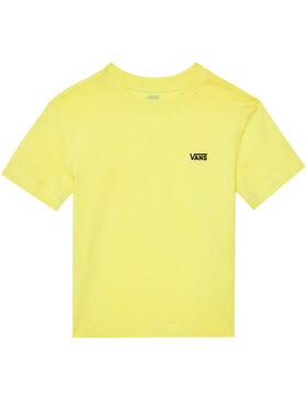 Vans Vans T-Shirt Junior V Boxy VN0A4MFLRNI1 Žlutá Regular Fit